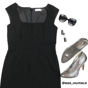 🚺NWOT CALVIN KLEIN Black Sheath Dress